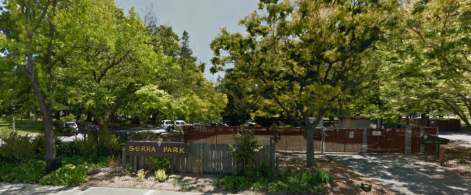 Serra Park seen from The Dalles AVE